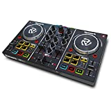 Numark Party Mix - Controlador de DJ plug-and-play de 2 canales para Serato DJ Lite con interfaz de...