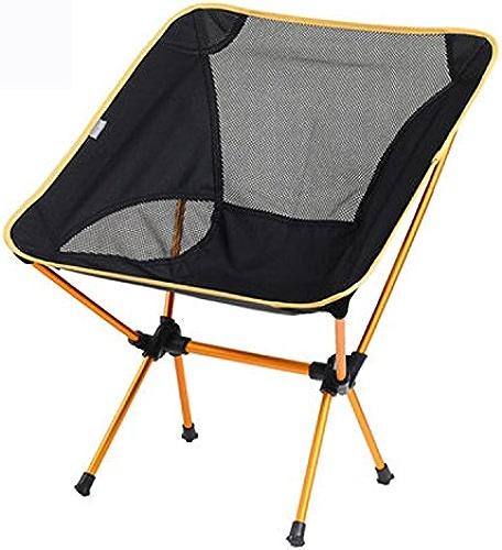 ZXWDIAN Chaise Longue Chaise portative légère en Aluminium Chaise de Plage Chaise de pêche Tabouret Camping Chaise Pliante Chaise extérieure chaises Pliantes