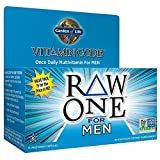 Garden of Life Multivitamin for Men - Vitamin Code Raw One Whole Food Vitamin Supplement with Probiotics, Vegetarian (150 Count)