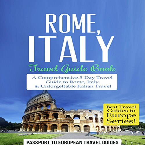 Rome, Italy: Travel Guide Book cover art