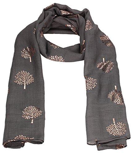 Mulberry Tree Celebrity Designer Scarf Womens Scarf Shawl Wrap Ladies Long...