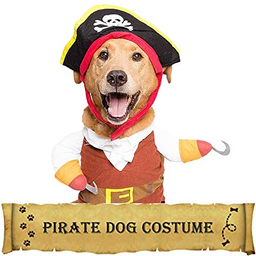 Pet Krewe Dog Pirate Costume