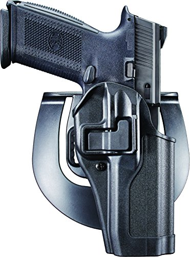 BlackHawk! SERPA CQC Concealment Holster – Mattes Finish, unisex, 410562BK-R, Schwarz, Size 62 - EAA Witness/T(A)95, CZ 75/75 SP01/85