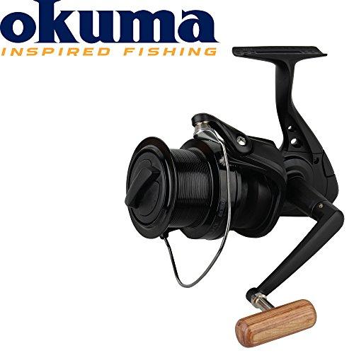 Okuma, CB-60, mulinello con bobina a riavvolgimento libero, di colore nero, codice prodotto 51232