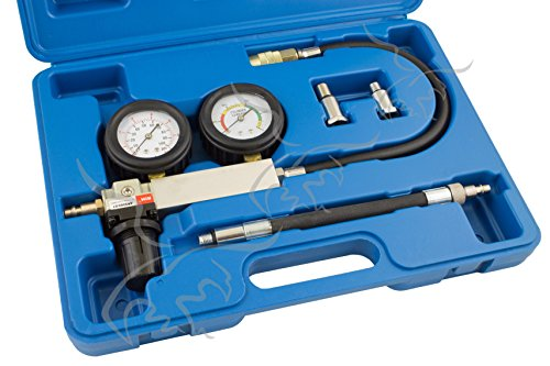 Tuecompra S.L. MEDIDOR Y COMPROBADOR DE Fugas DE Motor EN EL Cilindro. Manómetro Culata vacuómetro