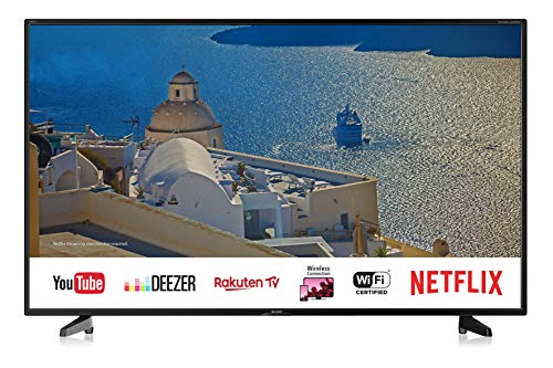 SHARP 4K Ultra HD Smart TV, 127 cm (50 Zoll), Harman/Kardon Soundsystem, HDR, Triple Tuner, LC-50UI7422E