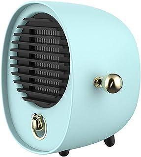 KAILUN Mini Heater Estufa Eléctrica Portatil 500 W con Termostato, Mini Estufa Eléctrica Calefactor Portátil Instant Heater con Termostato Ajustable,Verde