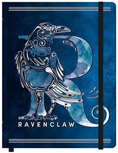 Caderneta Anotação sem Pauta, Harry Potter Ravenclaw, Jandaia, 67655-77, 25x19.5cm Grande, 80 Folhas