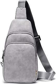 Men's Chest Bag, New Messenger Bag Multi-Function Sports and Leisure Shoulder Bag Men's Backpack