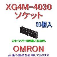 オムロン(OMRON) XG4M-4030 (50個入) MILタイプソケットロック付きコネクタ ソケット単品 40極 (極性ガイド1) NN