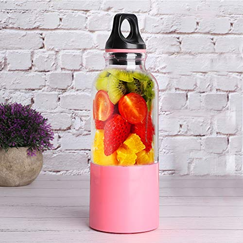 Changor Juicer Cup, Hecho de PC de Grado alimenticio, ABS, Gel de sílice, Acero Inoxidable 304 5V 2600mAh Squeso de limón de Acero