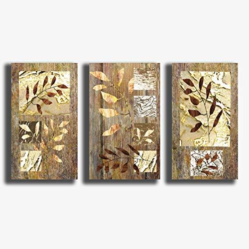 Quadri Moderni 3 pezzi 30x50 cm stile KLIMT palme Shabby chic vintage Stampa su Tela CANVAS Arredamento Arte XXL Arredo soggiorno salotto camera da letto cucina ufficio bagno bar ristorante (2)