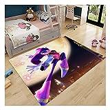YDuro Sonic The Hedgehog Alfombra De Dormitorio para Adolescente...