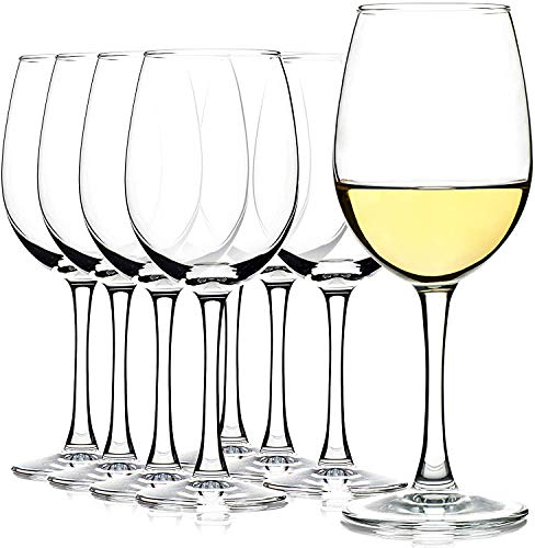 RELOZA -All-Purpose Wine Party Glasses, Set of 6