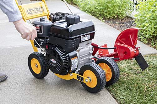 "McLane 101-5.5GT-7Gas Powered Lawn Edger, 5.50 Gross Torque/3.5 HP B&S Engine 7"" Wheels"