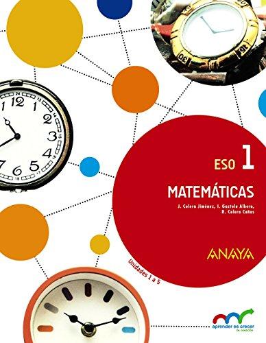 Matematicas 1 trimestre 1 2 3 9788467850734