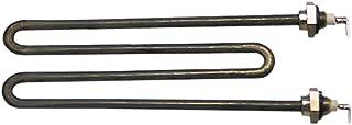 Colged - Radiador para lavavajillas 40, 35 conectores, conector plano de 6,3 mm, 2 orificios de fijación, ancho de 56 mm, longitud de 151 mm, 1100 W