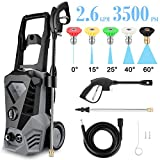 Best home pressure washer - ROOJER High Pressure Washer 3500 Max PSI 2.6 Review