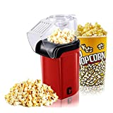 Hot Air Popcorn Popper, No Oil Needed Popcorn Maker, Electric Popcorn Popper for Kids, Healthy Popcorn Machine for Home Use