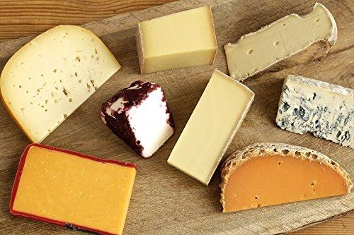 Käseplatte 'Probierpaket Überraschungsauswahl' | GRANDE 9 - 12 Sorten Käse = 1500g | Grußkarte GRATIS | Ideales Geschenk / Geschenkset / Präsent