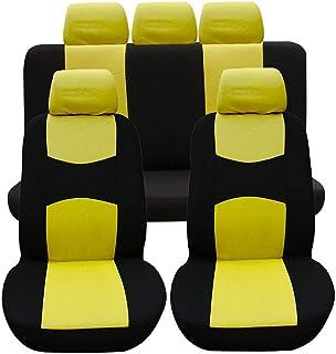 CITROEN JUMPER//REL/É 2 + 1 individual, 1 doble FIAT DUCATO 2006-2018 LHD BLACK-BLU Texmar PEUGEOT BOXER Fundas de asiento de piel ecol/ógica