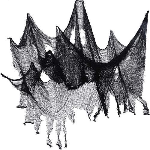 Telaraña de adorno para Halloween -183 x 76 cm