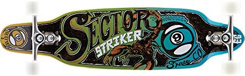 Sector 9 Longboard Striker 15 Complete, Blue, One Size, SS155C