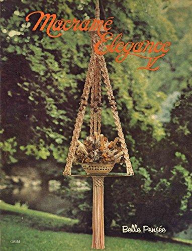 Macrame Elegance V: 1970s Plant Pot Hanger Globe Hangers Lamps (English Edition)