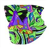 N/W Pasamontañas unisex con diseño de setas y variedades