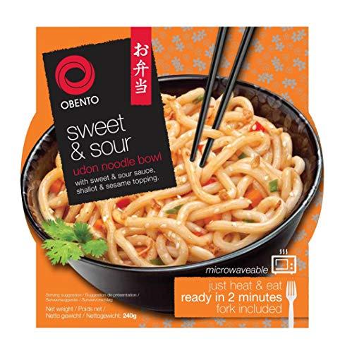 Obento Sweet & Sour Udon Bowl, 240 gramm