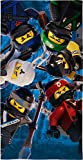 BERONAGE Lego Ninjago Badetuch Motiv Battle 70 cm x 140 cm