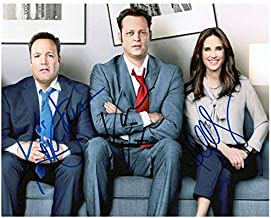 Photo Jennifer Connelly & Kevin James & Vince Vaughn Autograph Signed 8 x 10