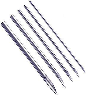 إبر ثقب الأنف للأذن - 50 قطعة من إبر ثقب الجسم المختلطة من يويلونج بما في ذلك مقاسات 12 جم، 14 جم، 16 جم، 18 جرام، 20 جرام...