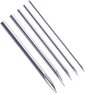 Ear Nose Piercing Needles - Yuelong 50pcs Mixed Body Piercing Needles Including Sizes 12g 14g, 16g,18g & 20g for Piercing Supplies Piercing Kit Body Piercing Tool