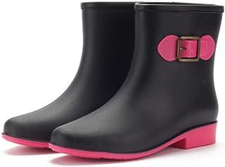 ZOSYNS Dames enkellaarsjes rubberen laarzen antislip regenlaarzen mode Chelsea Rain Boots dames outdoor schoenen 36-41