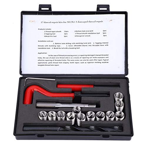 Kit de enhebrado, con caja y herramienta de reparación de hilo de esponja, equipo de separación de aire para comunicación por microondas, piezas de automóvil de aparamenta de alto voltaje,