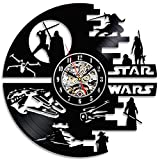 Decorativa Star Wars Handmade Vinilo Pared Reloj