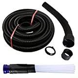 ECOMAID 1 1/4 inch Dust Pro Cleaner Dirt Remover Attachment Discharge Hose Kit for Vax Vacuum Hoover Cleaner