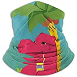 Bklzzjc Happy Hippo Nackenwärmer - Nackenschutzrohr, Ohrenwärmer Stirnband & Gesichtsmaske.