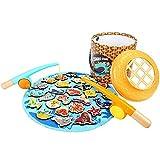 Lihgfw Angeln Toys 1-15 Jahre alt Kinder Jungen Zwei Jahre Alten Baby Puzzle Simulation Fishing Rod Hand-Auge-Koordination Gute Wahl for Eltern-Kind-Interaktion (Größe : Large)