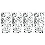 Spiegelau & Nachtmann Bossa Nova, Bicchiere in Cristallo 4 Bicchieri da Long Drink...