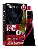 Azalea Total Tinte Capilar Permanente, Color Negro - 224 gr