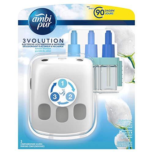 Ambi Pur 3volution elektrische Lufterfrischer Starter Cotton Blossom, 20 ml