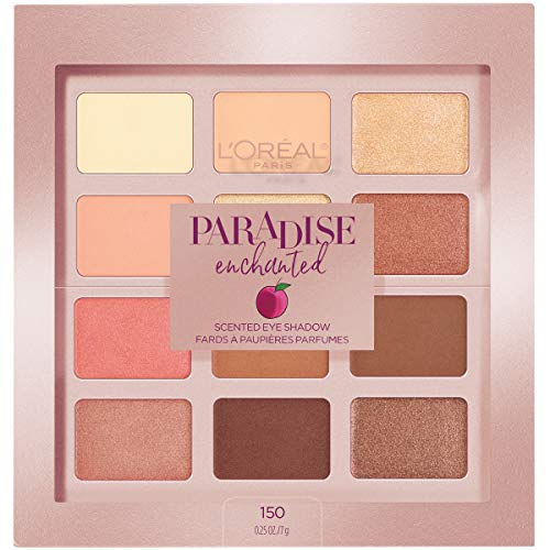 L'Oreal Paris Paradise Enchanted Scented Eyeshadow Palette, 0.25 fl. oz.