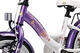 BIKESTAR Kinderfahrrad für Mädchen ab 4-5 Jahre   16 Zoll Kinderrad Classic   Fahrrad für Kinder Lila & Weiß   Risikofrei Testen - 6