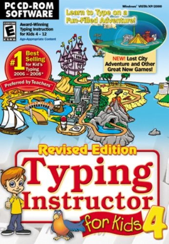 Typing Tutor for Kids Version 4 (2010) (PC CD) [import anglais]