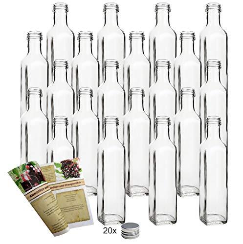 Flaschendiscount 20 leere Glasflaschen 250ml