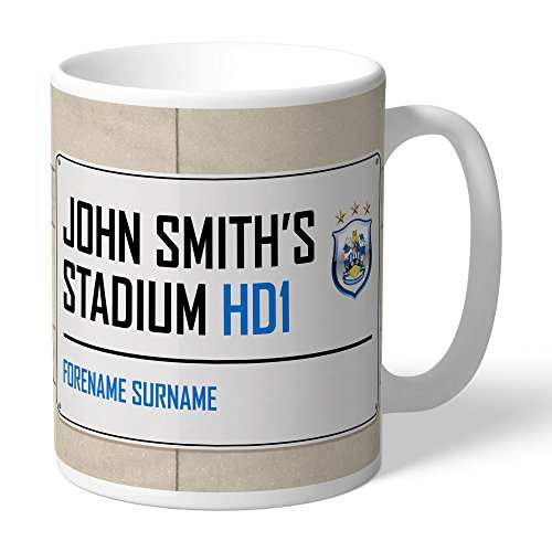 Official Personalised Huddersfield Town Street Sign Mug