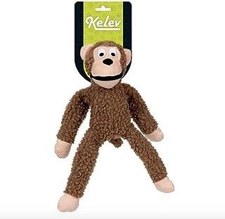 Mord Pelúcia Macaco Grande Marrom Kelev Jambo para Cães