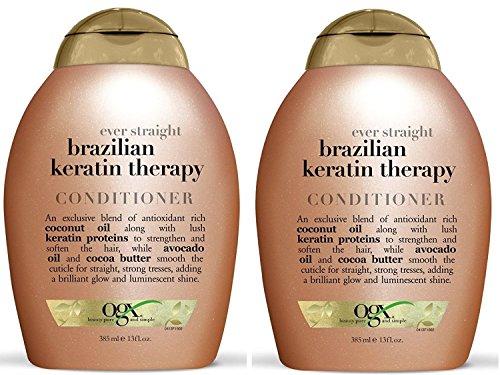OGX Conditioner, Ever Straight Brazilian Keratin...
